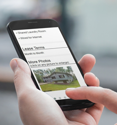 Mobile Friendly Rental Listing