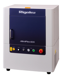 Rigaku MiniFlex Benchtop XRD for qualitative and quantitative analysis of polycrystalline materials