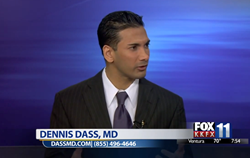 Dr. Dennis Dass discusses beauty secrets at the Emmy Wards on Fox Morning News