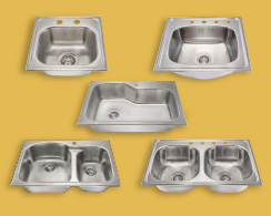 New Topmount Sinks from MR Direct