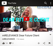 "mRELEVANCE Launches ""Dear Future Client"" YouTube Video"