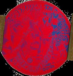 original Jim Morrison The Doors 1967 Kaleidoscope psychedelic concert posters