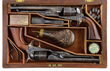 A set of M 1860 Colts presented to James Cameron, Commander of the 79th N.Y. Highlanders. Cameron was the brother of Simeon Cameron, Lincoln's Secretary of War who also received a set from Col. Colt.