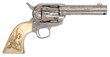 An exceptional early Nimschke engraved Colt SA from the Philip Bleakney Estate Collection.