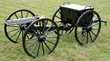 A rare and outstanding Colt Model 1875 Gatling gun on Carriage with Limber.