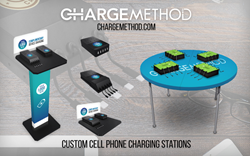 ChargeMethod custom cell phone charging solutions