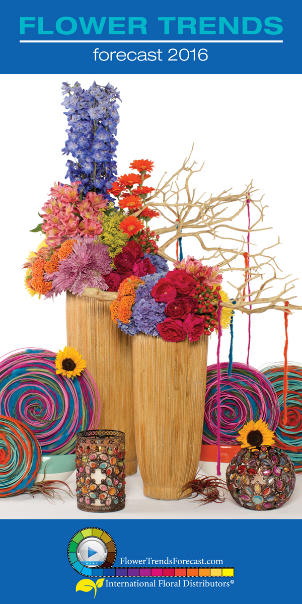 Flower Trends Forecast 2016 for Weddings and Events Released