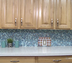 Ronald McDonald House Kitchen - Countertops & Backsplash by Granite Transformations