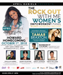 Television Personality April Daniels Honors Grammy Nominated Songstress, Tamar Braxton at her Rock Out With Me Women's Empowerment Event at Howard University