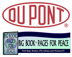 DuPont and Pages for Peace Logos