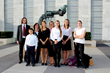 Students at the United Nations for The International Day of Peace 1