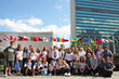Students at the United Nations for The International Day of Peace 2
