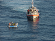 Crowley-Managed Philadelphia Express Provides Assistance to Distressed Cuban Rafters Near Key West