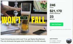 Mighty Mug Barware Celebrates Quick Success of Kickstarter to Bring to...