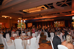 Photo of the 2014 Red and White Ball room.
