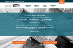 Taxpayer Rights Conference Landing Page