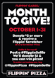 Flippin' Pizza Gives to Local Charities in October Month to Give