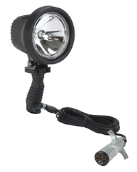 HUL-18-TRP Handheld Spotlight with 16' Cord Ending in a Trailer Plug