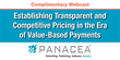 Panacea Announces a Complimentary Webcast on How to Establish Transparent and Competitive Pricing for Hospitals and Health Systems on September 30