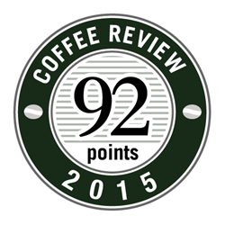 Crimson Cup Wayfarer Blend received a 92 rating from Kenneth Davids and the Coffee Review