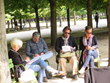 Left Bank Writers Retreat writers find inspiration in such iconic Paris settings as the Tuileries.