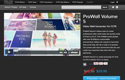 Pixel Film Studios release ProWall Volume 5 for FCPX