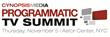 Cynopsis Media Announces New Programmatic TV Summit