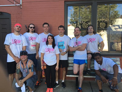 The MRD Team at the 2015 Race for the Cure