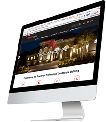 AMP Lighting launches new website for landscape lighting professionals