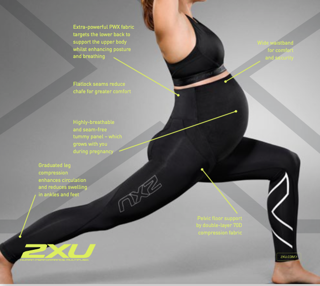 bb1e5235ebc66 Global Brand 2XU Introduces Pregnancy and Post-natal Compression Tights