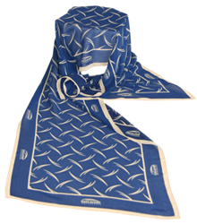 Custom modal fabric scarves for organizations that are looking for unique corporate gifts