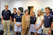 Rosarian Academy Visited by Rep. Lois Frankel Who Graciously Distributes Tickets to See Pope Francis