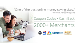 Cash Back Shopping Website