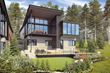 Stellar Residence Exterior Rendering at Mountainside at Northstar