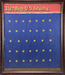 HISTORIC AND IMPORTANT FLAG OF THE ALL BLACK 38TH REGIMENT US INFANTRY.