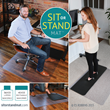 ES ROBBINS Announces the First Ever Dual Purpose Sit or Stand Mat™