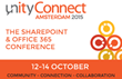 Salves will be Showcasing KWizCom's Solutions at the Unity Connect Amsterdam 2015