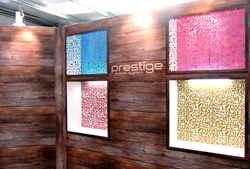 Quadrant2Design now offer custom, lattice-cut graphic panels for exclusive use with the Prestige Event System