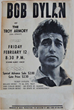 Avid Collector Announces Search For Vintage Bob Dylan 1965 Troy Armory Boxing Style Concert Posters