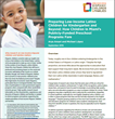 New Study Explores Kindergarten Readiness of Low-Income Latino Children