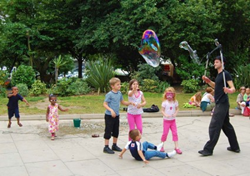 Children Playing Outdoors Reduce Risk of Myopia