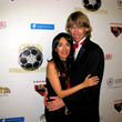 Gregory Graham and his wife, actor/host/writer/director/psychologist/professor Dr. Luciana Lagana at 2015 AOF Film Festival event.