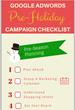 Google AdWords Pre-Holiday Season Checklist