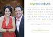 Debbi DiMaggio and Adam Betta pledge to support Giveback Homes