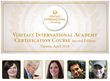 Vinitaly International Academy opens its doors to the second edition of the VIA Certification Course