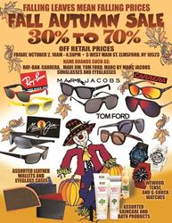 Huge discounts on all designer frames and sunglasses