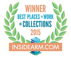 Coast to Coast Financial Solutions Recently Selected as One of the Best Places to Work in Collections for 2015.