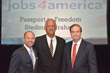 American Support CEO Matt Zemon, Author/Educator Stedman Graham and jobs4america CEO Jack Wilkie