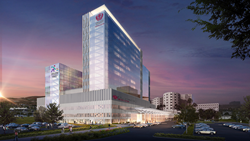 Loma Linda University Health has released the official renderings for the new Loma Linda University Medical Center and Children's Hospital towers, which are expected to break ground in spring next year.