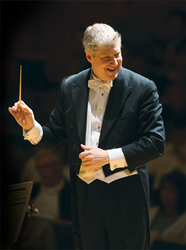 Kansas City Symphony Music Director Michael Stern. Photo credit: Todd Rosenberg